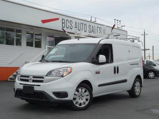 Used 2017 RAM ProMaster City Shelving System, Ladder Rack, Beacon, Camera for sale in Vancouver, BC