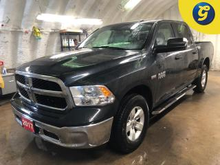 Used 2017 RAM 1500 SXT * Crew Cab 4 X 4 * 5.7L Hemi * 3.92 rear axle ratio * Hands-free comm. with Bluetooth * Trailer tow mirrors * 6 Passenger * ParkView Rear Back-Up for sale in Cambridge, ON