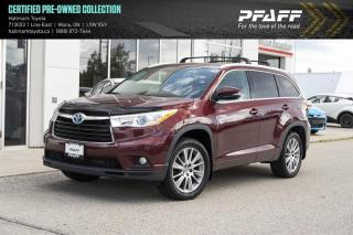 Used 2014 Toyota Highlander HYBRID XLE CVT for sale in Orangeville, ON