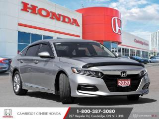 Used 2020 Honda Accord LX 1.5T APPLE CARPLAY™ & ANDROID AUTO™ | REARVIEW CAMERA | HONDA SENSING TECHNOLOGIES for sale in Cambridge, ON