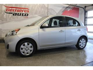 Used 2015 Nissan Micra SV for sale in Lévis, QC