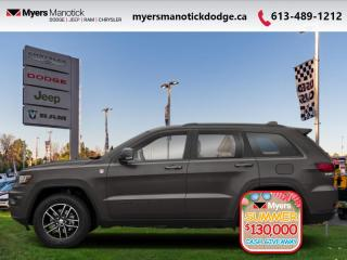 New 2020 Jeep Grand Cherokee Trailhawk  - Off-Road Ready - $343 B/W for sale in Ottawa, ON