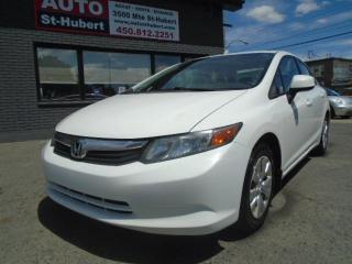 Used 2012 Honda Civic DX-G for sale in St-Hubert, QC