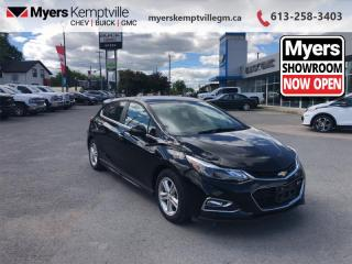 Used 2017 Chevrolet Cruze LT  - Heated Seats -  Touch Screen for sale in Kemptville, ON