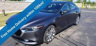 Used 2019 Mazda MAZDA3 GT, Leather, Sunroof, Navigation, Rear Camera, Heated Seats, Alloy Wheels & More! for sale in Guelph, ON