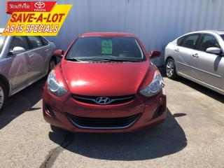 Used 2013 Hyundai Elantra GL for sale in Stouffville, ON