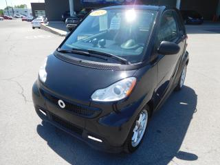Used 2015 Smart fortwo Passion, TOIT PANORAMIQUE, A/C, MAGS, BANCS CHAUFF for sale in Mirabel, QC