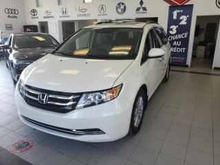 Used 2016 Honda Odyssey EX-L / TOIT OUVRANT / CUIR / CAMERA / PO for sale in Sherbrooke, QC