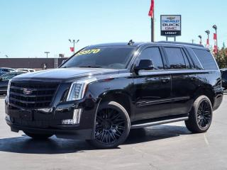 Used 2017 Cadillac Escalade Luxury Blacked Out! | Vented seats! for sale in Burlington, ON