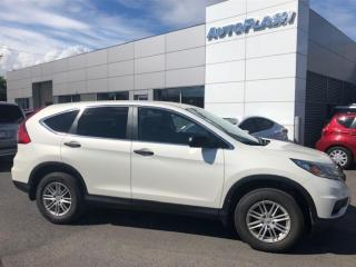 Used 2016 Honda CR-V LX AWD *Mags * Bluetooth *Camera for sale in St-Hubert, QC