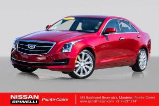 Used 2017 Cadillac ATS Luxury AWD LUXURY PKG / AWD / NAVIGATION / CUIR / TOIT OUVRANT for sale in Montréal, QC