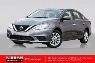 Used 2016 Nissan Sentra SV TOIT OUVRANT / CAMERA DE RECUL / SIÈGES CHAUFFANTS / BLUETOOTH / SMART KEY for sale in Montréal, QC