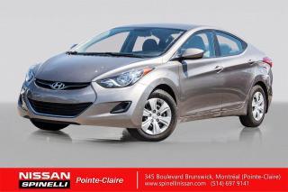Used 2011 Hyundai Elantra GL A/C /  MANUELLE / GROUPE ELECTRIQUE / BLUETOOTH for sale in Montréal, QC