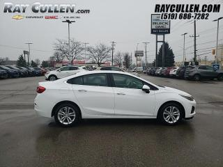 Used 2019 Chevrolet Cruze LT - Certified - Apple CarPlay for sale in London, ON