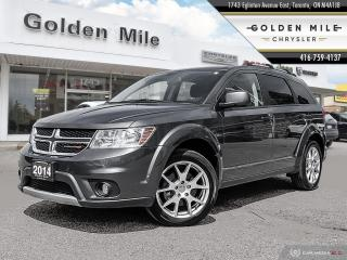 Used 2014 Dodge Journey SXT Limited Clean Carfax, Heated Seats, Back-up Camera for sale in North York, ON