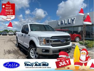 Used 2018 Ford F-150 XLT, 4x4, One Owner, Local Trade! for sale in Tilbury, ON
