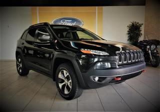 Used 2016 Jeep Cherokee TRAILHAWK - INTEGRALE - CAMERA - BAS PRI for sale in Drummondville, QC