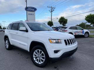 Used 2016 Jeep Grand Cherokee Laredo cuir, Toit, GPS for sale in St-Eustache, QC