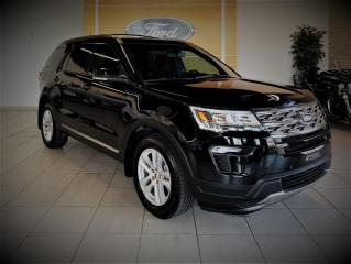 Used 2018 Ford Explorer XLT - AWD - GPS/CAMERA - 7 PASS - BAS PR for sale in Drummondville, QC