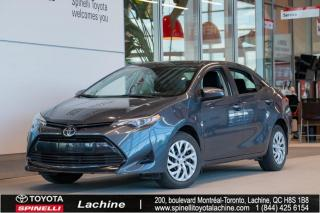 Used 2017 Toyota Corolla LE AVERTISSEMENT DE SORTIE DE VOIE for sale in Lachine, QC