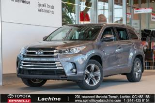 Used 2017 Toyota Highlander Limited Navigation! Toit Ouvrant! for sale in Lachine, QC