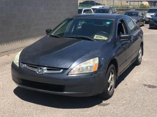 Used 2004 Honda Accord Sdn 4dr Sdn LX-G Auto for sale in Caledon, ON