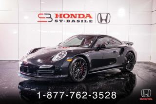 Used 2015 Porsche 911 TURBO + COUPE + NAVI + TOIT + WOW! for sale in St-Basile-le-Grand, QC