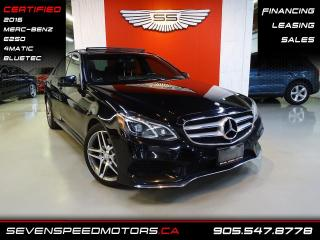 Used 2016 Mercedes-Benz E-Class E250 DESIGNO | CERTIFIED | AMG | FINANCE @ 4.65% for sale in Oakville, ON