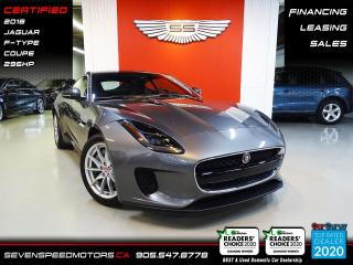 Used 2018 Jaguar F-Type 296HP | ACCIDENT FREE | NAVI | CERTIFIED | FINANCE @4.65% for sale in Oakville, ON