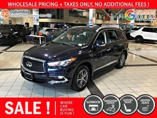 Used 2020 Infiniti QX60 PURE 4dr AWD - Accident Free / Local for sale in Richmond, BC