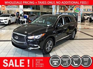 Used 2020 Infiniti QX60 PURE AWD - No Accident / Leather / Nav for sale in Richmond, BC