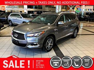 Used 2020 Infiniti QX60 PURE AWD - Accident Free / Local for sale in Richmond, BC