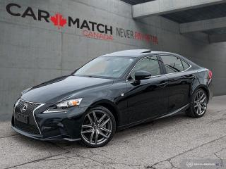 Used 2014 Lexus IS 250 F-SPORT / NAV / ROOF / NO ACCIDENTS for sale in Cambridge, ON