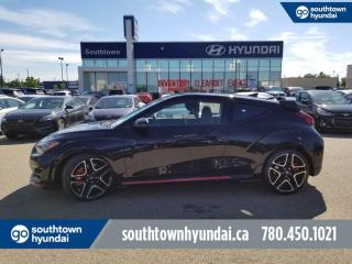 New 2020 Hyundai Veloster N N - 2.0T 275 HP, Adjustable Active Exhaust, Electronic Limited Slip Diff/Controlled Suspension, Rev Matching Trans, Pirelli Tires, Bluelink, Push Button for sale in Edmonton, AB
