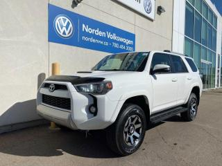 Used 2017 Toyota 4Runner SR5 LOADED - LEATHER / SUNROOOF for sale in Edmonton, AB