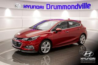 Used 2017 Chevrolet Cruze RS PREMIER + GARANTIE + MAGS + CAMERA + for sale in Drummondville, QC