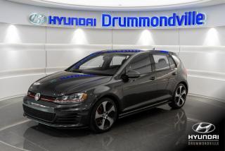 Used 2015 Volkswagen Golf GTI AUTOBAHN + GARANTIE + TOIT + CAM + WOW ! for sale in Drummondville, QC
