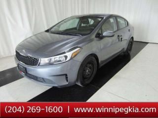 Used 2017 Kia Forte 2.0L LX MT *Collision Free!* for sale in Winnipeg, MB