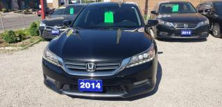 Used 2014 Honda Accord Sedan Touring for sale in Oshawa, ON