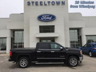 Used 2015 GMC Sierra 1500 SLE CREW 4X4  - Leather Seats for sale in Selkirk, MB