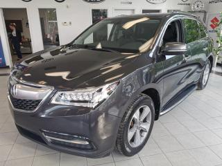Used 2014 Acura MDX TECH PACKAGE / 7 PASSAGERS / CUIR / TOIT for sale in Sherbrooke, QC