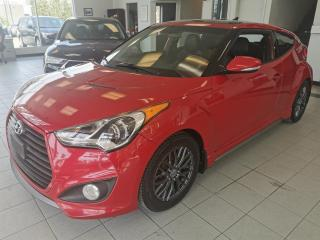 Used 2015 Hyundai Veloster TURBO / CUIR / TOIT PANORAMIQUE / GPS / for sale in Sherbrooke, QC