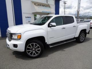 Used 2018 GMC Canyon Denali 4x4, Crew, Nav, Apple Car Play, One Owner for sale in Langley, BC