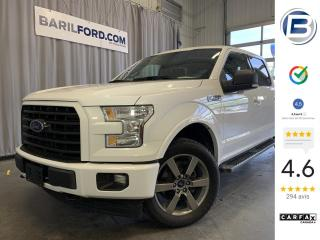 Used 2017 Ford F-150 Cab SuperCrew 4RM 145 po XLT for sale in St-Hyacinthe, QC