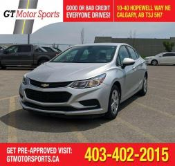 Used 2016 Chevrolet Cruze LS for sale in Calgary, AB