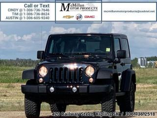 Used 2018 Jeep Wrangler Sport 3.6L V6,4X4,CONVERTIBLE AND REMOVABLE HARDT for sale in Kipling, SK