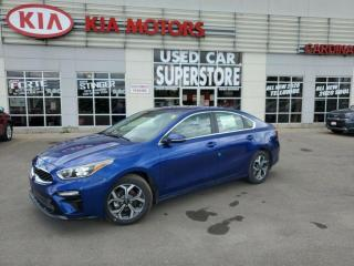 New 2020 Kia Forte EX IVT - Auto Braking, Blind Spot Detection for sale in Niagara Falls, ON