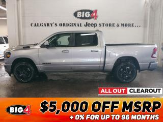 New 2020 RAM 1500 Big Horn Night Edition for sale in Calgary, AB