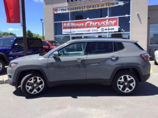 Used 2019 Jeep Compass LIMITED 4X4|LEATHER|POWER LIFTGATE|BACK UP CAMERA for sale in Milton, ON