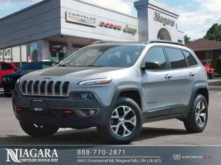 Used 2015 Jeep Cherokee Trailhawk | Local Trade for sale in Niagara Falls, ON